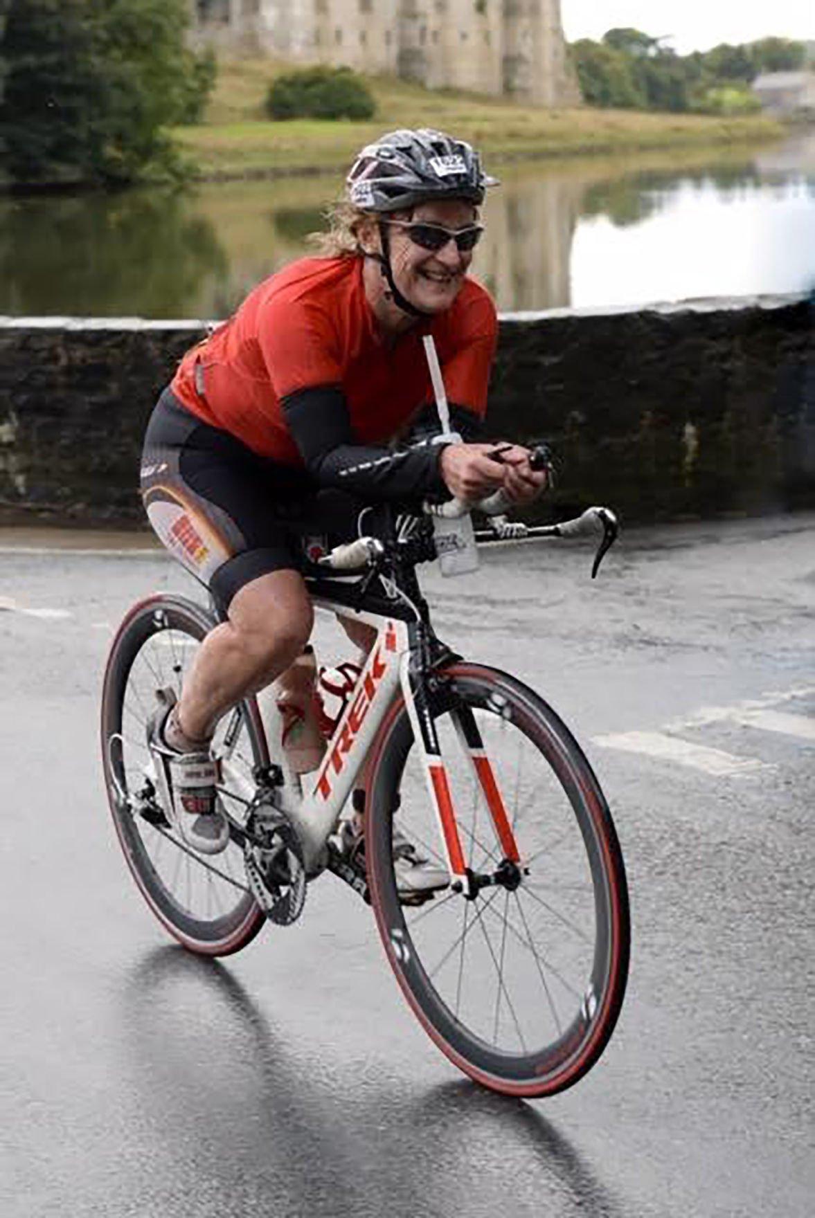 Rhiannon biking