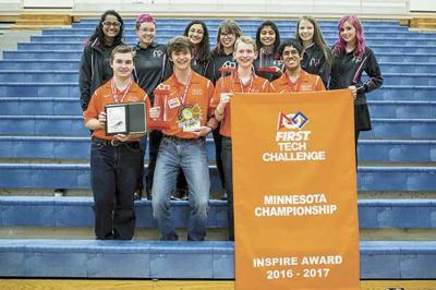 Robotics team wins state championship