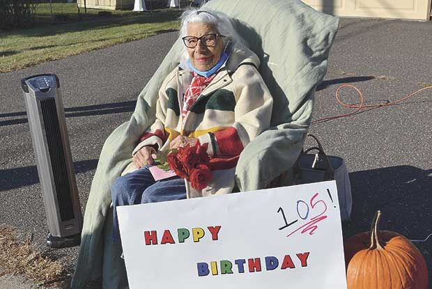 At 105, Rose gets her own parade