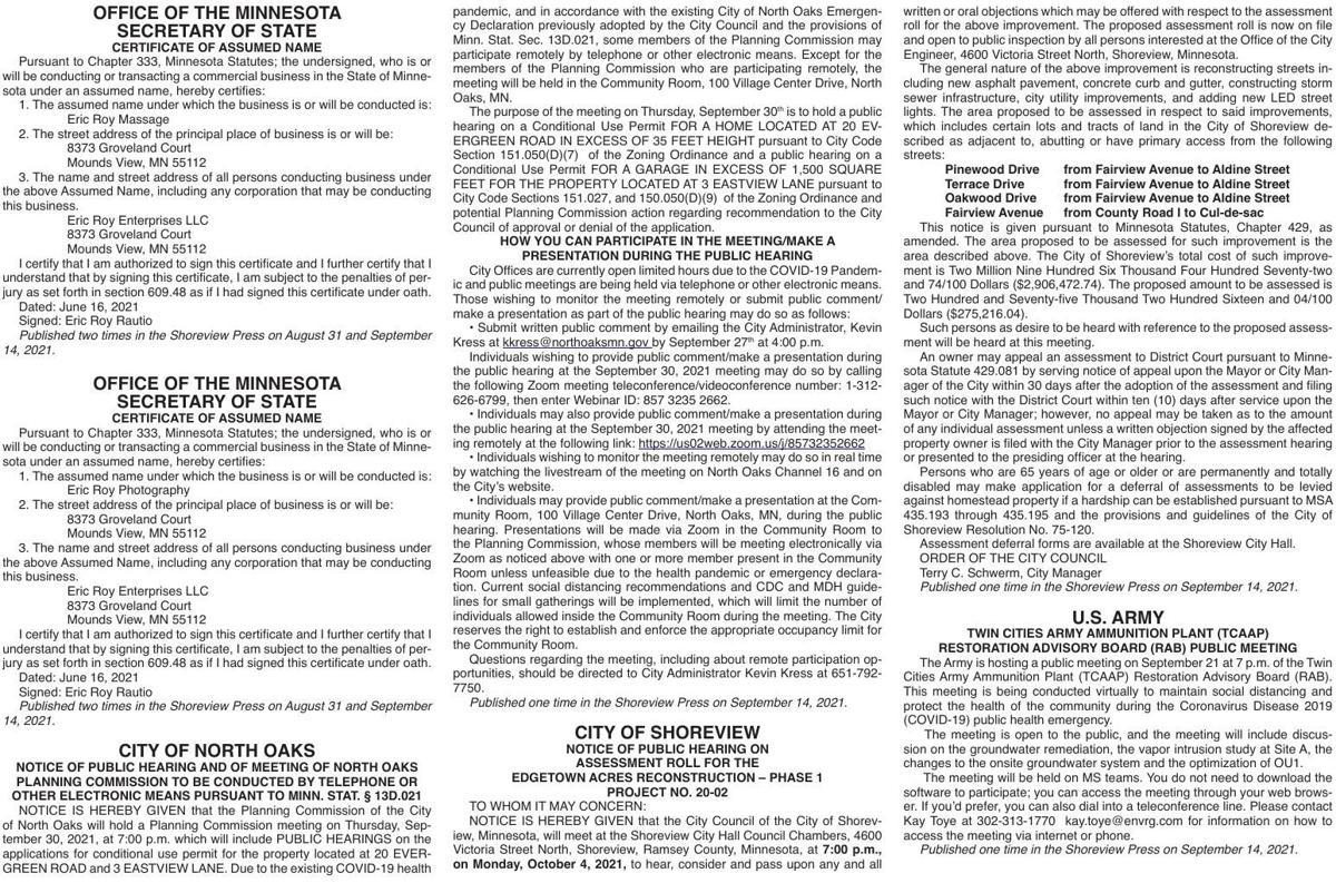 Legals SV 9-14-21
