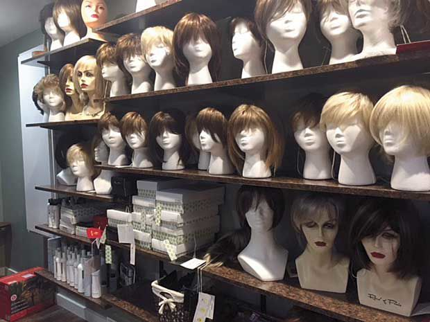 Wig care revives self-confidence