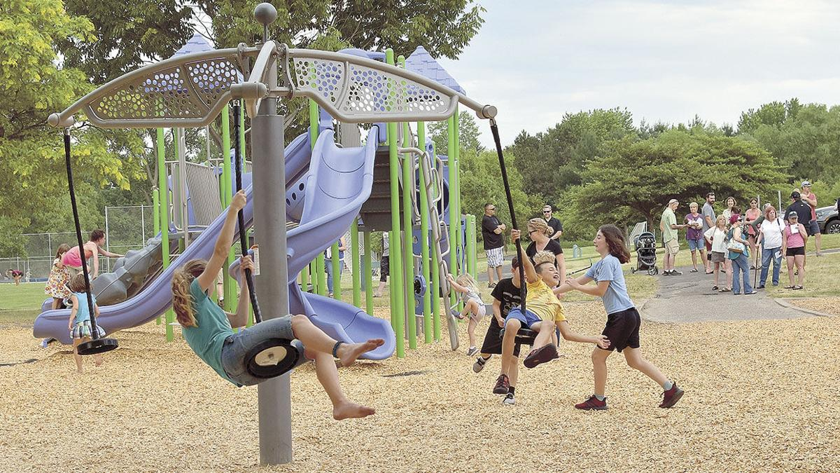 Playground honors longtime city employee