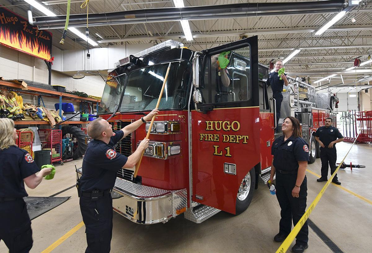 Hugo Fire dedicates new engine