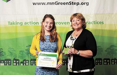 Shoreview takes green step