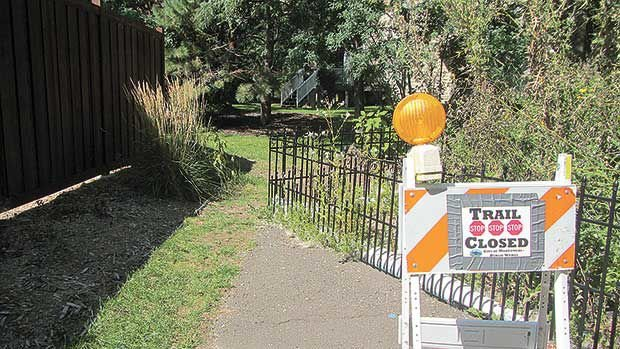 Judge issues decision in neighborhood path case