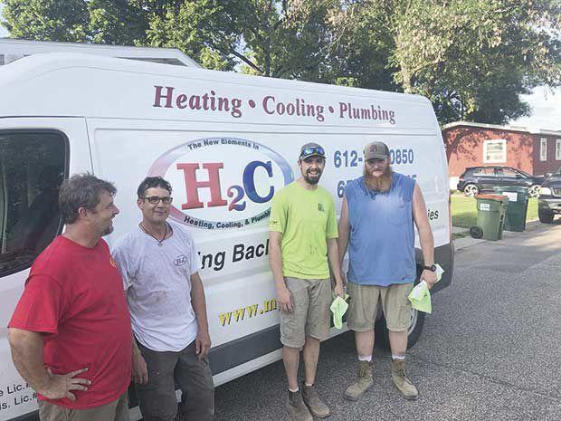 Plumbers organize to help Circle Pines resident