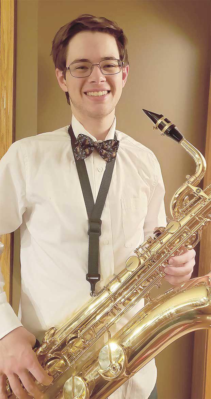 Centennial High School's top senior musician, proud to be 'band nerd'