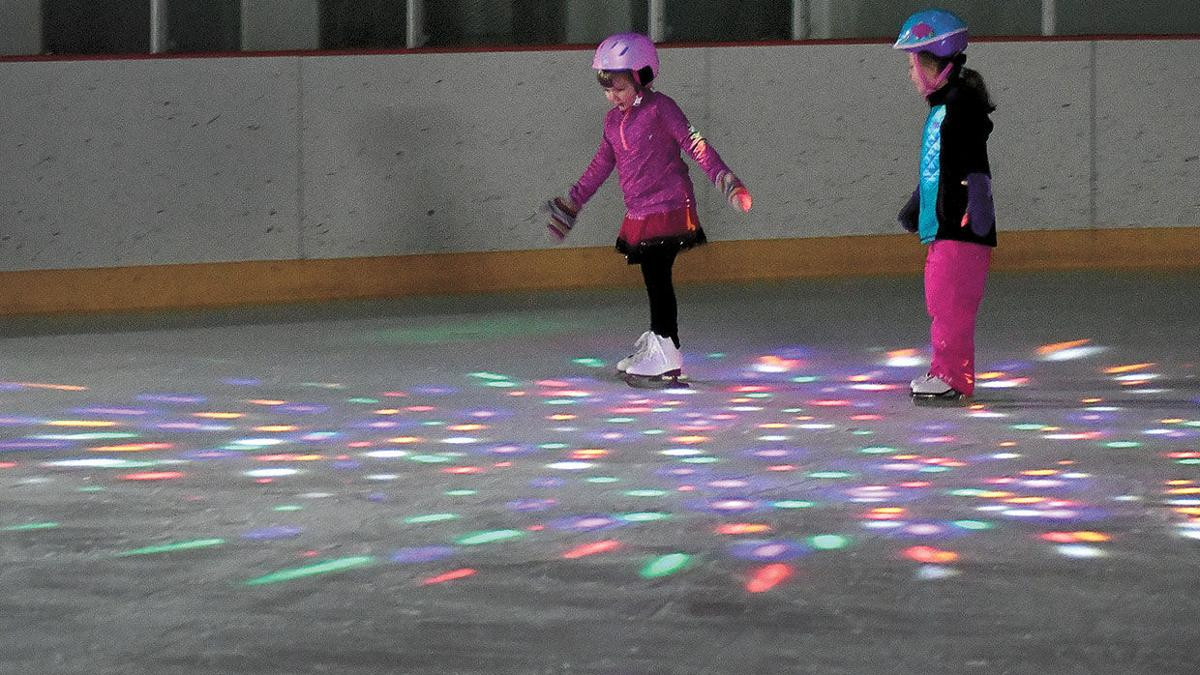 Open skate time at the Hippodrome
