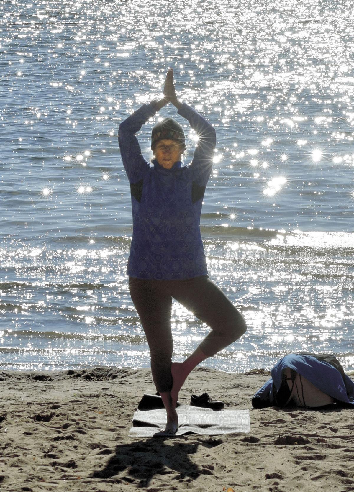 Beach classes help stretch out summer
