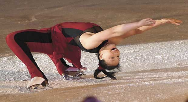 Local skater 'born to perform' will join Disney On Ice