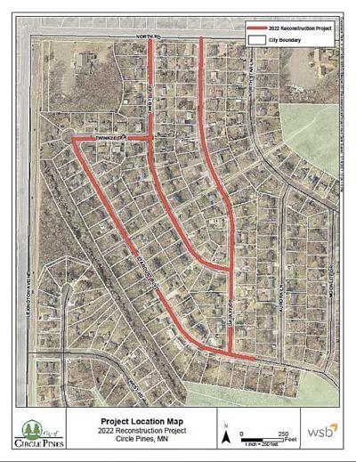Circle Pines Council expresses concern with simultaneous projects