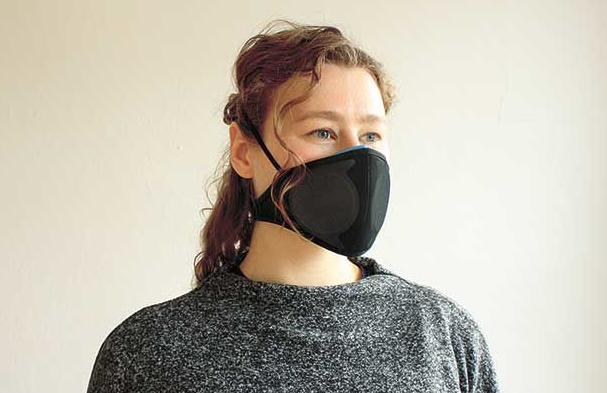 Startup's medical mask offers 'sustainable protection'