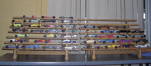 Pinewood Derby Race Takes Off In Circle Pines Quad