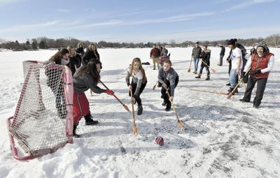 International students experience Minnesota winter