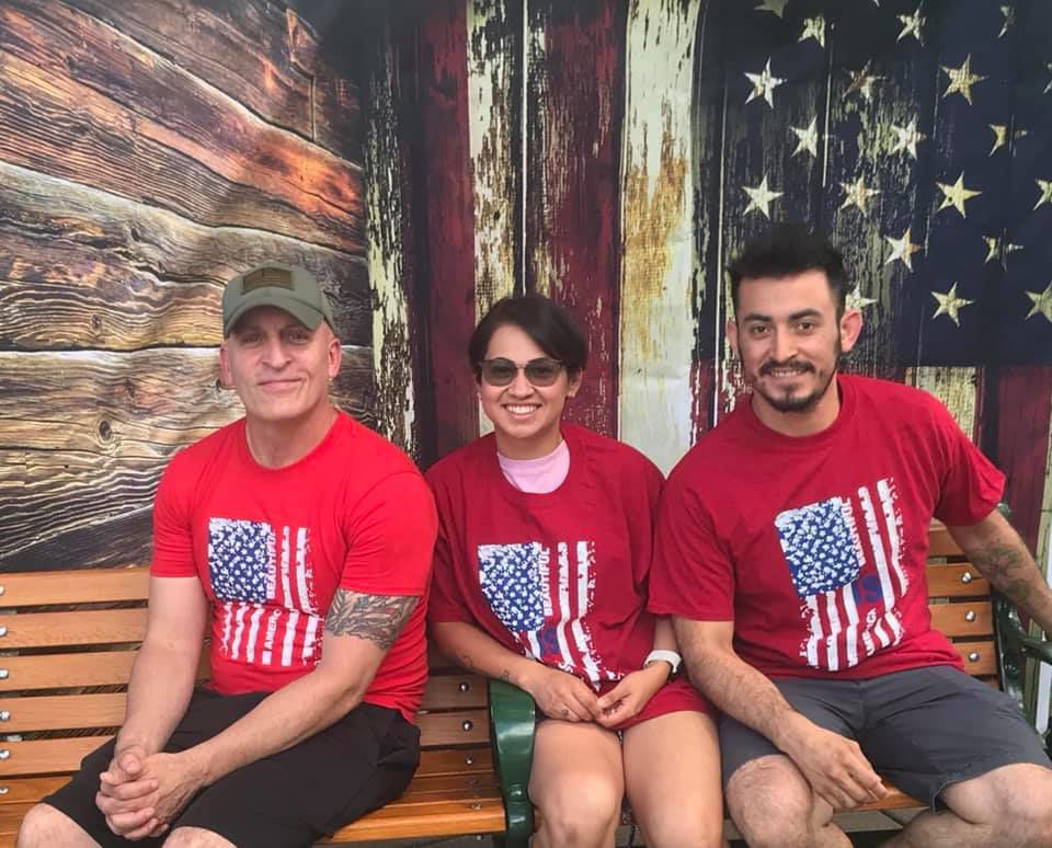 Red, white, blue will be in abundance at Railroad Park