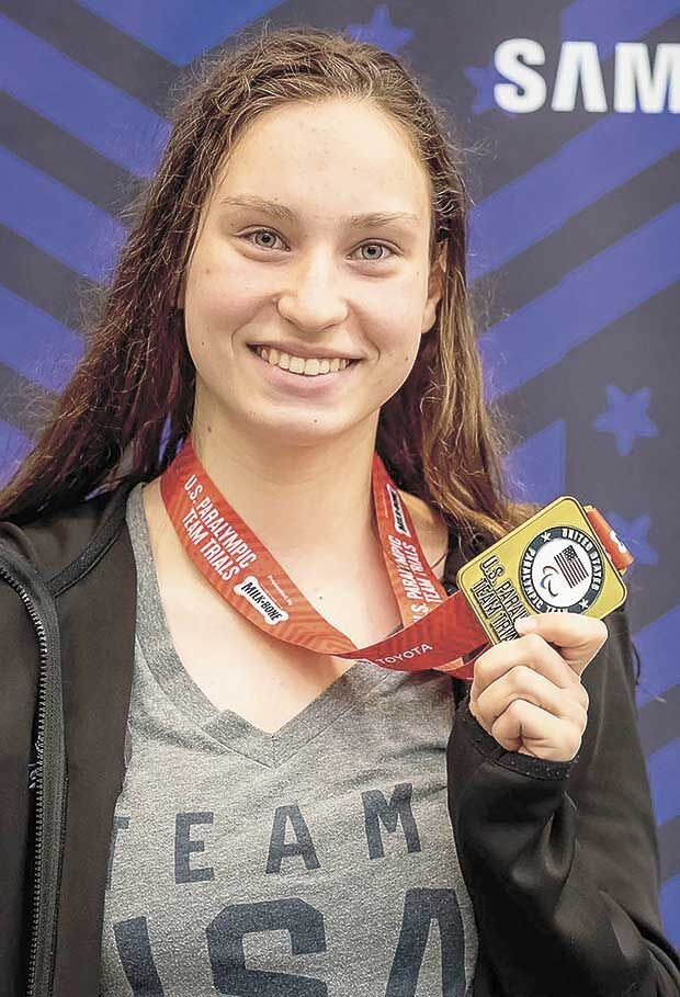 Local athlete to swim in Tokyo Paralypmics