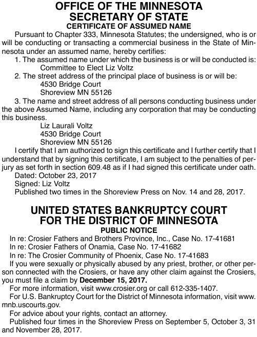 Legals SV 11-28-17
