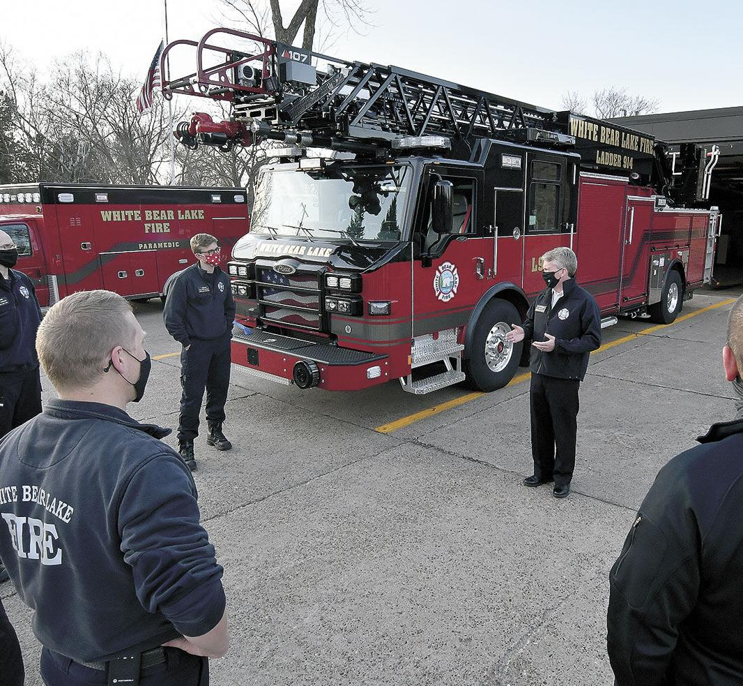 New fire engine brought into service with dedication ritual