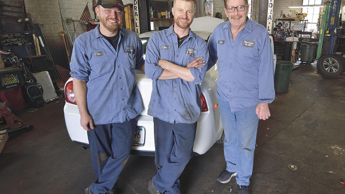 Auger's Garage celebrates 100 years of automotive service