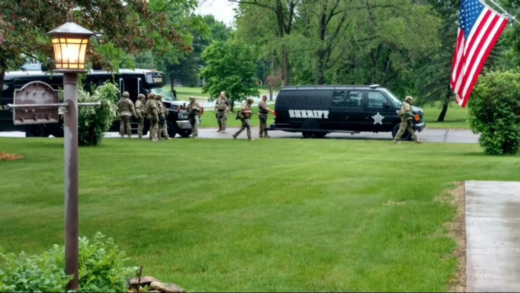 Lino Lakes domestic results in one dead