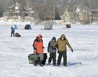 Ice trail traffic report