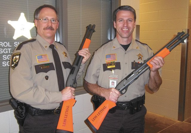 Sheriff's Office has new less-lethal option