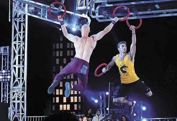 Man of action: Centennial grad is stunt man, Ninja Warrior