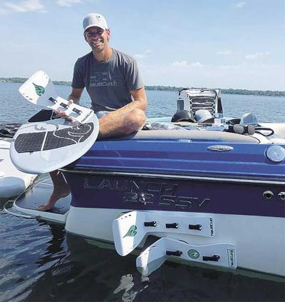 Riding the waves on local lakes led to clever business venture