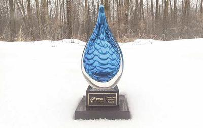 Big blue trophy: Watershed launches steward award