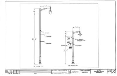 Light poles with flower baskets coming soon in Vadnais Heights