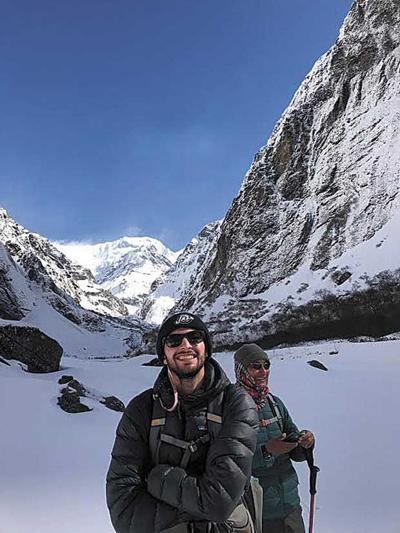 North Oaks student hikes through Himalayas for spring break