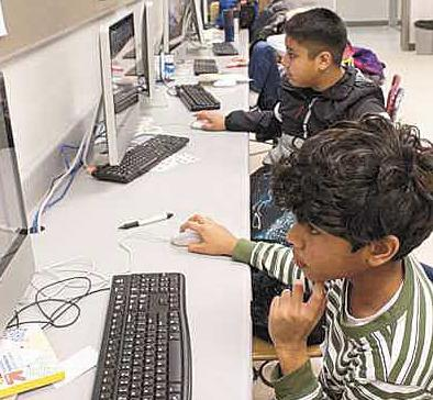 Local coding camp teaches with an eye on the future