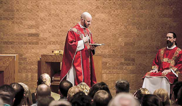 New priest hopes to foster 'healing, welcome and love