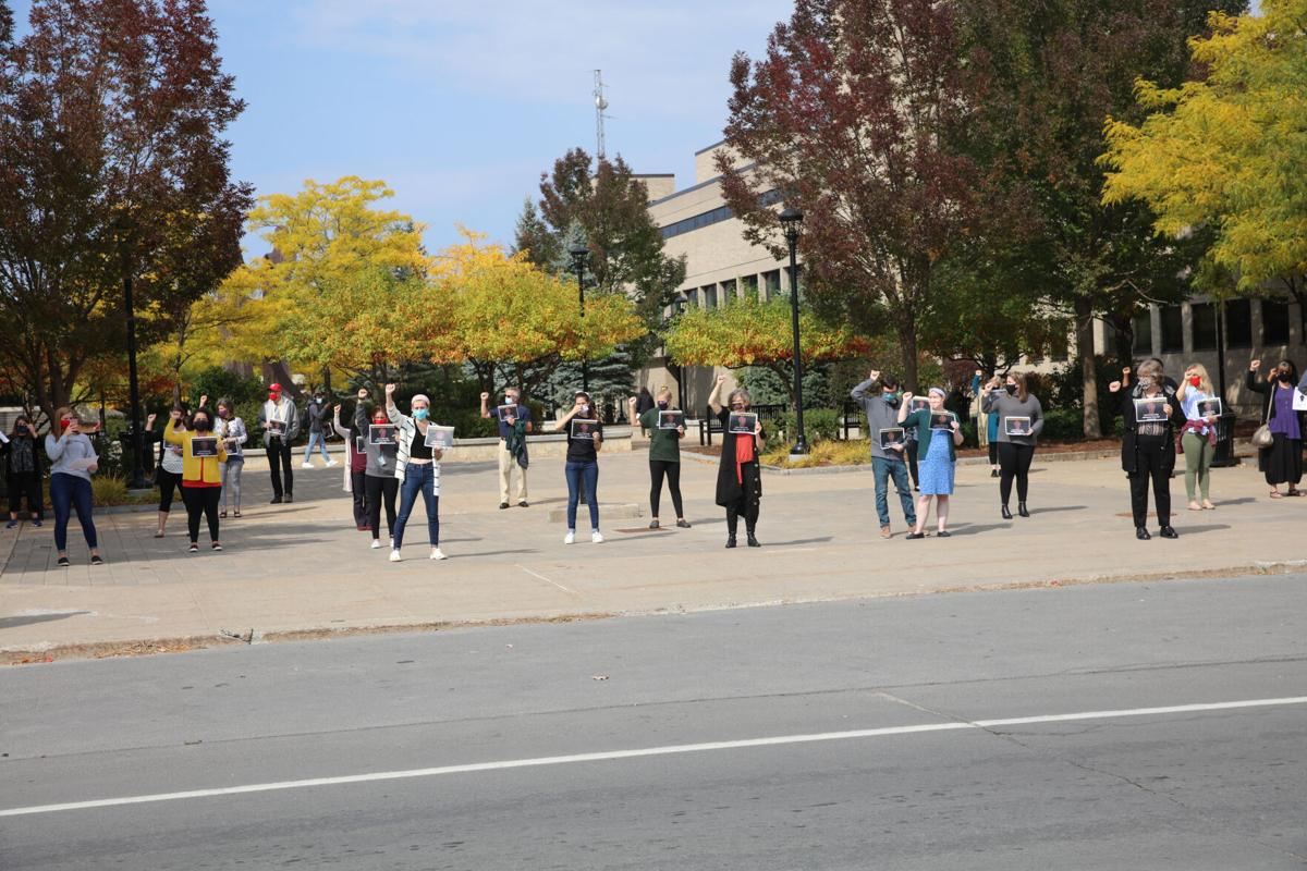 Say Her Name Suny Plattsburgh Community Rallies Over Breonna Taylor Ruling Local News Pressrepublican Com
