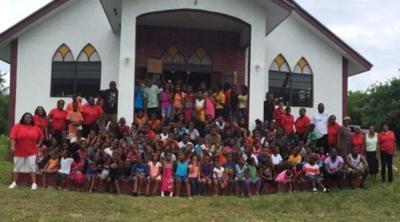 Moriah churches launch drive for Bahamian kids