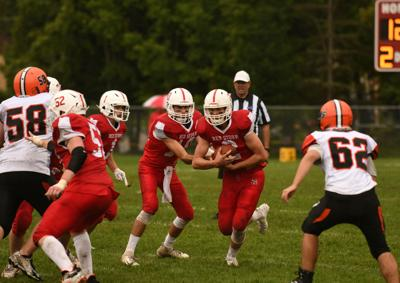 Brown's TDs lead Saranac Lake in shutout of PHS