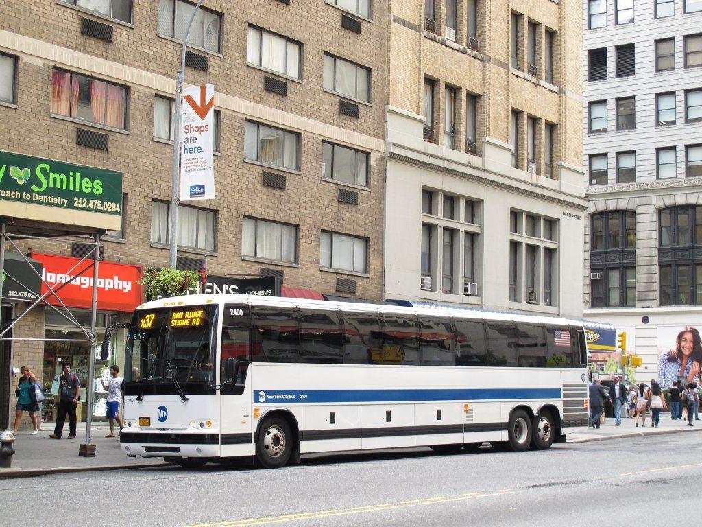X Express Bus From Manhattan To Staten Island