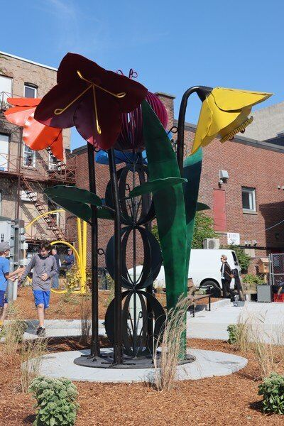 Betty Little Arts Park officially opens