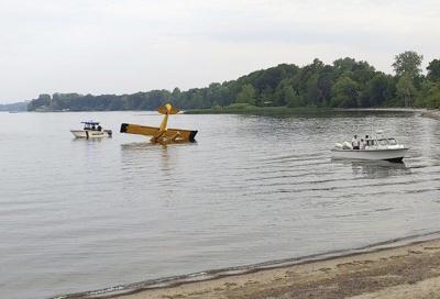 Coast guard, county sheriffs respond to plane incident near Valcour Island