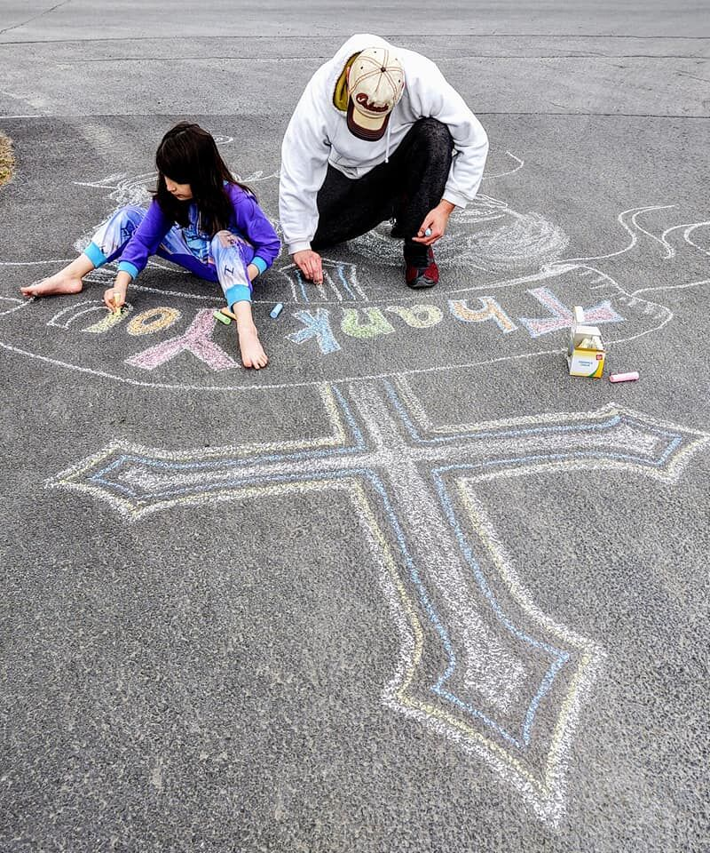 Chalk it up to Summertime: North Country residents share chalk drawings