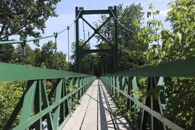 Saranac River Pedestrian Bridge to close while cleanup enters new phase