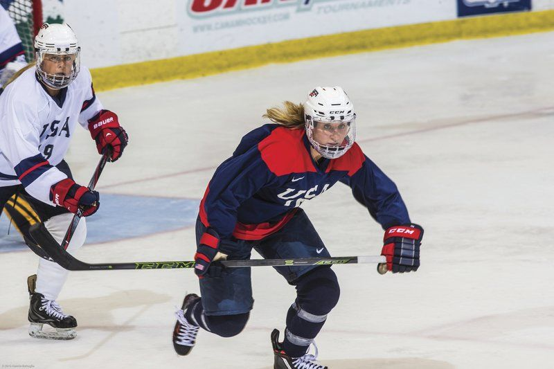 Lake Placid Hosts Us Women S Hockey Players Adult Youth Sports
