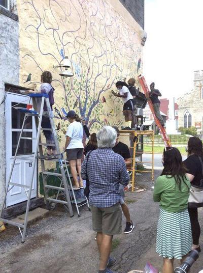 Birds of a Mural: Artwork honors local diversity