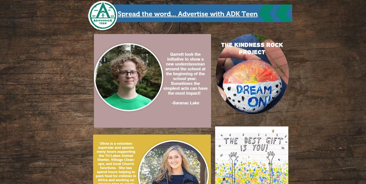 A scene for teens in the ADKs