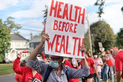 'We can do better': CVPH nurses picket hospital for more staffing, services
