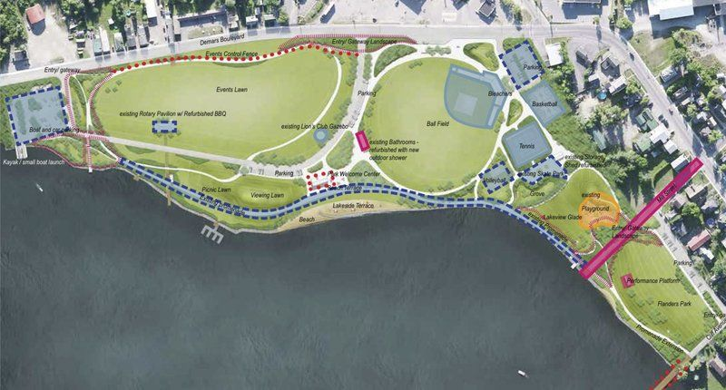 Sensational Tupper Waterfront Park Plan Ready For Review Local News Largest Home Design Picture Inspirations Pitcheantrous