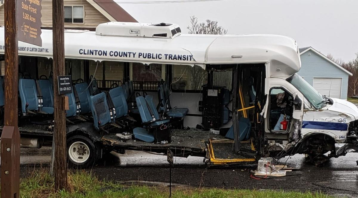 Police: Pickup crossed line to hit CCPT bus | News | pressrepublican com