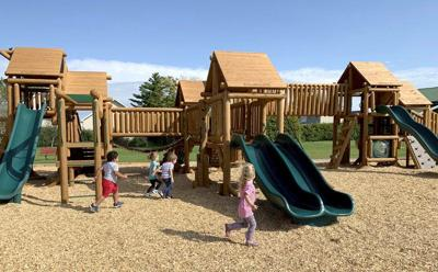 Rouses Point kids score new playground