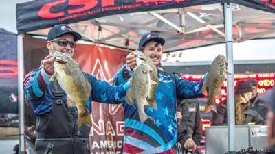 Local anglers help USA take silver