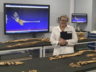 Paleopathologist debones concepts of race